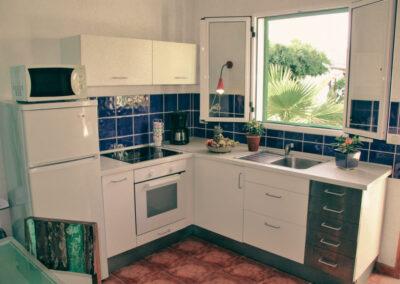 Küche in der Villa Perenquén auf Teneriffa