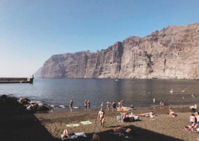 Playa de Los Guíos Los Gigantes Teneriffa