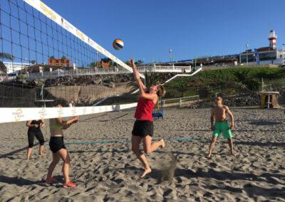 Beach-Volleyball Teneriffa