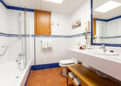 Badezimmer Hotel Isabel auf Teneriffa