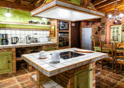 Küche Casa Tara auf Teneriffa