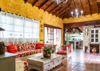 Wohnzimmer Casa Tara auf Teneriffa